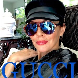 💯 GUCCI JapaneseCollection shield 59mm sunglasses